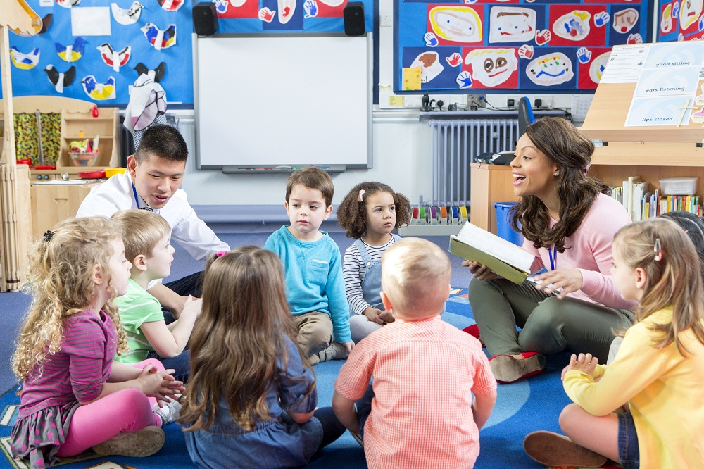 How Circle Time at Preschool Benefits Children
