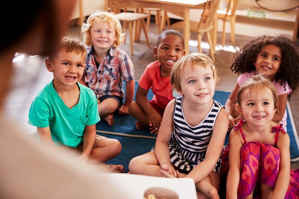 Small Children in Class
